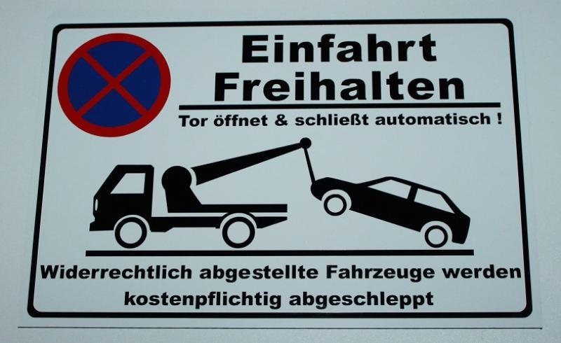https://www.kennzeichenshop24.de/mediafiles//kunden/Hinweisschild-Einfahrt-freihalten_1607593494.jpg